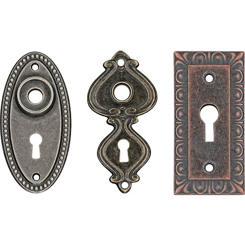 47671 Tim Holtz Idea-Ology Large Metal Keyholes 3/Pkg (TH93678).