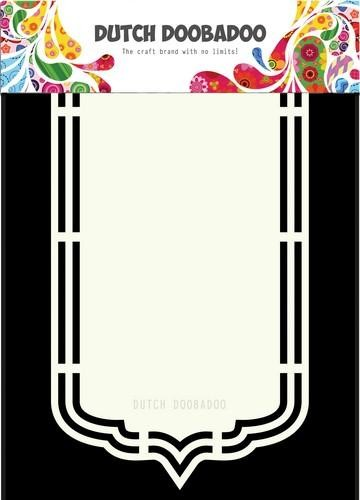 47746 Dutch Doobadoo Dutch Shape Art Bookmark A4 (470.713.164).