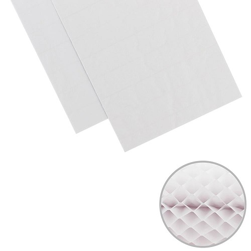 "47769 We R Memory Keepers DIY Party Honeycomb Pads 3""X8"" 2/Pkg White."