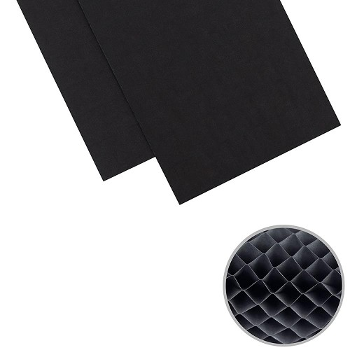 "47770 We R Memory Keepers DIY Party Honeycomb Pads 3""X8"" 2/Pkg Black."
