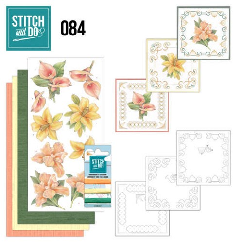 47865 Stitch and Do 84 - Yellow Flowers.