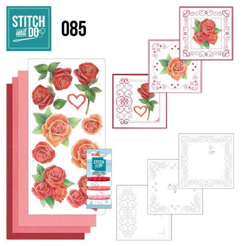 47866 Stitch and Do 85 - Roses.