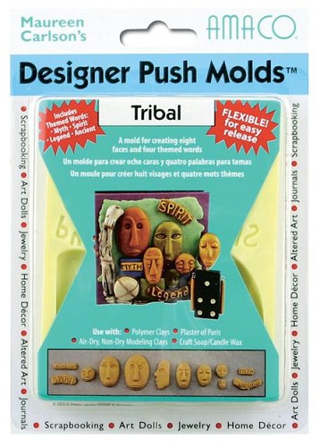 48010 Designer Push Molds Tribal.