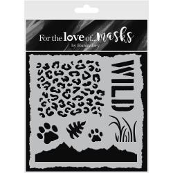 "48038 Hunkydory For The Love Of Masks 5.5""X5.5"" Safari Adventure."