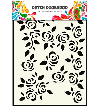 48092 Dutch DooBaDoo Mask Art Roses (470.715.022).