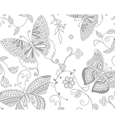 48201 Ursus Magic Paper, Butterfly 23 x 33cm / 1 sheet / 250grs (81920001).