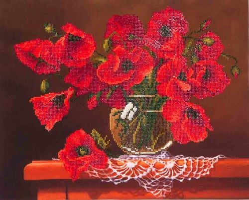 48406 Diamond Dotz - 50,8x40,6cm - Red Poppies (DD9.002).