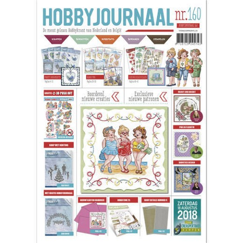 48570 Hobbyjournaal 160 met Bubbly Girls pushout vel.