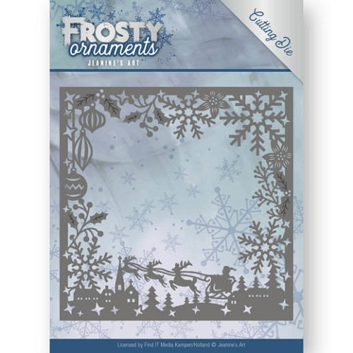 48579 Dies - Jeanine`s Art - Frosty Ornaments - Frosty Frame (JAD10041).