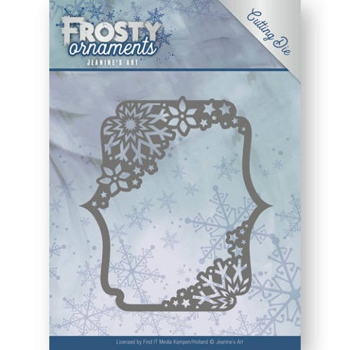 48580 Dies - Jeanine`s Art - Frosty Ornaments -Rectangle Ornament (JAD10042).