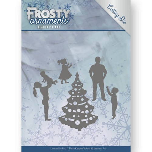 48583 Dies - Jeanine`s Art - Frosty Ornaments - Happy Family  (JAD10045).
