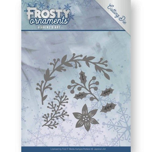 48584 Dies - Jeanine`s Art - Frosty Ornaments - Christmas Branches  (JAD10049).