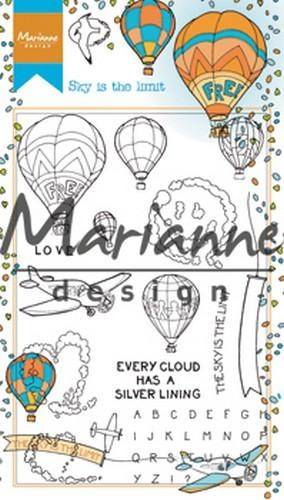 48619 Marianne Design Stempel Hetty`s Border Sky is the Limit (HT1634).