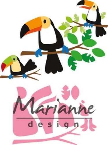 48638 Marianne Design Collectable Eline`s Toekan (COL1457).