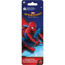 48704 DC Comics Flip Pack Stickers 6/Pkg Spiderman.