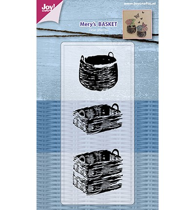 48740 Clearstamp - Mery`s Baskets (6410/0485).