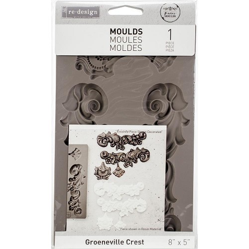 48991 Prima Re-Design Decor Mould Groeneville Crest (632380).