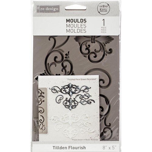 48992 Prima Re-Design Decor Mould Tillden Flourish (632359).