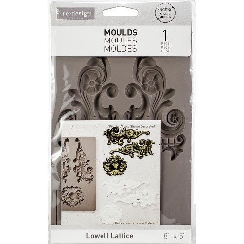 48994 Prima Re-Design Decor Mould Lowell Lattice (632298).