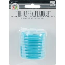 "49101 Me & My Big Ideas Happy Planner Discs 1.75"" 9/Pkg Teal (RING-09)."