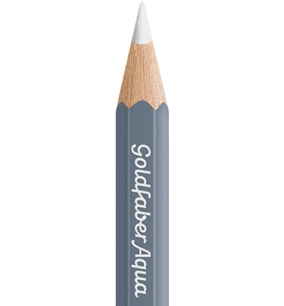 49307 Faber Castell Goldfaber Aquarelpotlood White 114601-101.