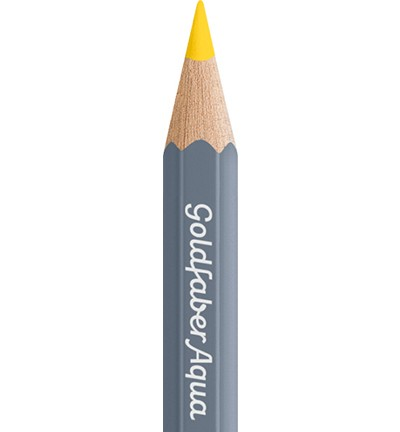 49309 Faber Castell Goldfaber Aquarelpotlood Cadmium Yellow Lemon 114605-105.