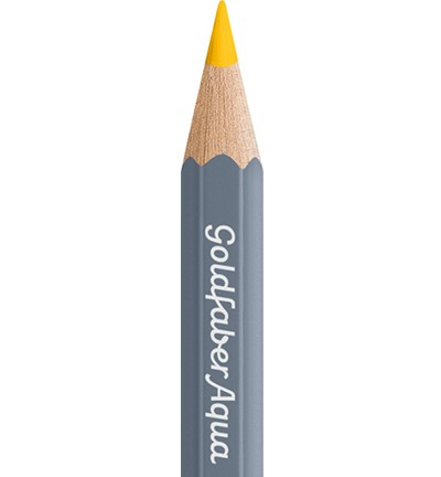 49310 Faber Castell Goldfaber Aquarelpotlood Cadmium Yellow 114607-107.