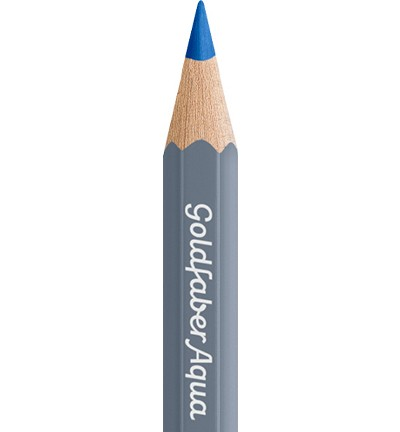 49328 Faber Castell Goldfaber Aquarelpotlood Cobalt Blue 114643-143.