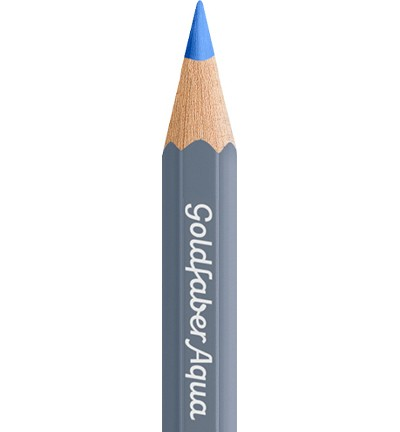 49330 Faber Castell Goldfaber Aquarelpotlood Light Ultramarine 114640-140.