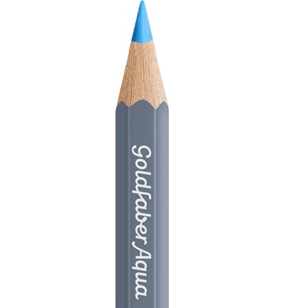 49331 Faber Castell Goldfaber Aquarelpotlood Light Blue 114647-147.