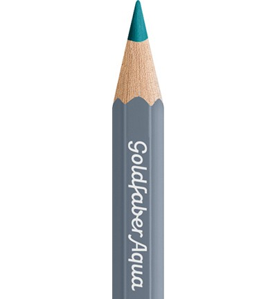49332 Faber Castell Goldfaber Aquarelpotlood Light Cobalt Turquoise 114654-154.