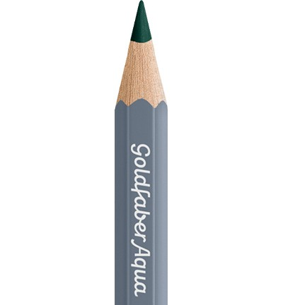 49336 Faber Castell Goldfaber Aquarelpotlood Deep Cobalt Green 114658-158.