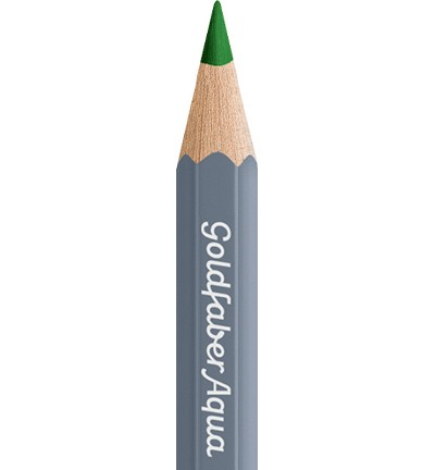 49341 Faber Castell Goldfaber Aquarelpotlood Grass Green 114666-166.