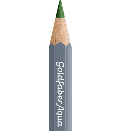 49343 Faber Castell Goldfaber Aquarelpotlood Permanent Green Olive 114667-167.