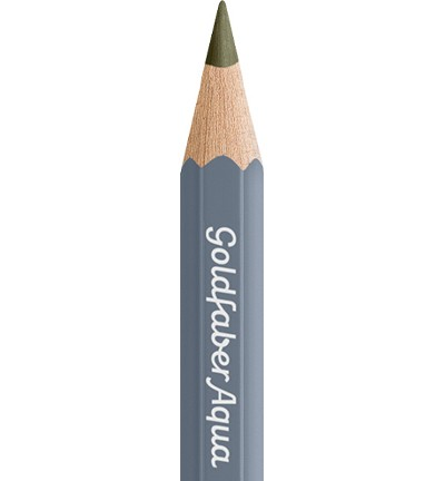 49344 Faber Castell Goldfaber Aquarelpotlood Olive Green Yellowish 114673-173.