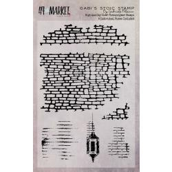 "49506 49 And Market Clear Stamps 4""X6"" Gabi`s Stoic (GP-87513)."