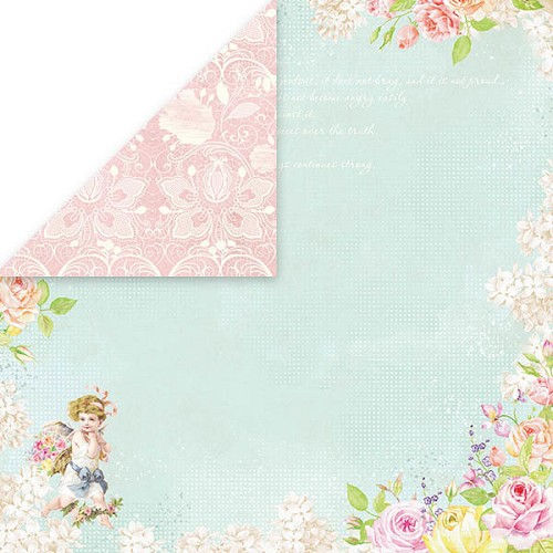 49602 Craft and You Design AMORE MIO 1 Scrapbooking Doubles. Paper 12x12, 200gsm.
