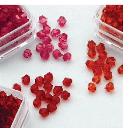 49760 Hobby Crafting Fun Bicones - Diamand Trio 4mm  (12034-0401).