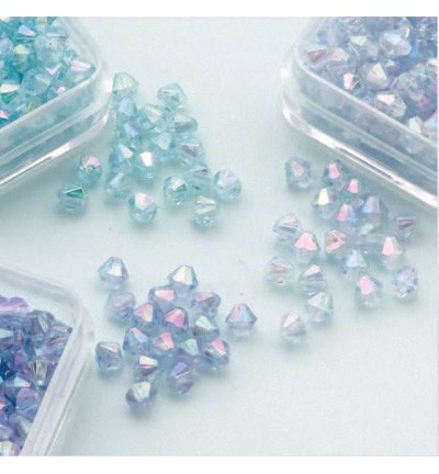 49761 Hobby Crafting Fun Bicones - Diamand Trio 4mm  (12034-0404).