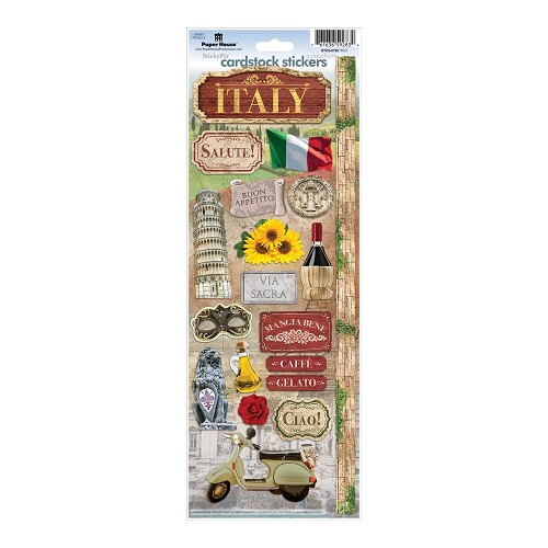 49781 Paperhouse Stickers Italy.