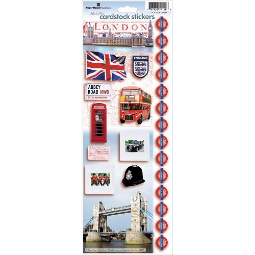 49782 Paperhouse Stickers London.