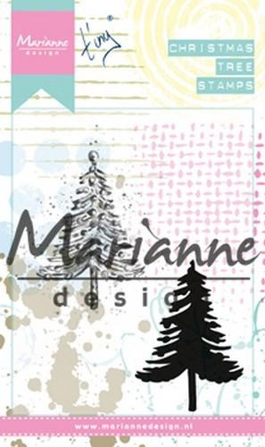 49906 Marianne Design Cling stamps Tiny`s Kerstboom (MM1625).