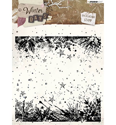 49940 Studio Light - Stamp Background Winter Days, nr. 315 (STAMPWD315).