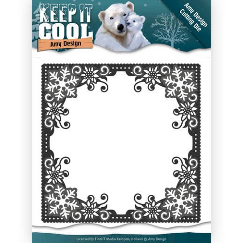 50181 Dies - Amy Design - Keep it Cool - Cool Square Frame (ADD10158).