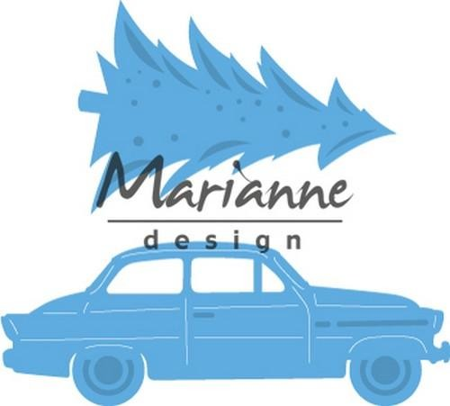 50231 Marianne Design Creatable Driving Home for Christmas (LR0567).
