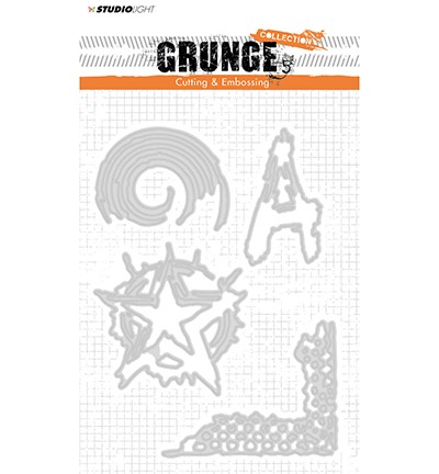 50260 Studio Light Cutting and Embossing Die, Grunge Collection nr.151.