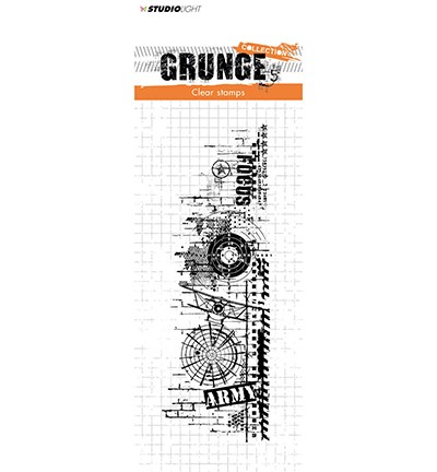 50266 Studio Light Stamp Grunge Collection nr.342.