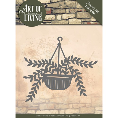 50406 Dies - Jeanine`s Art - Art of Living - Hanging Plant (JAD10056).