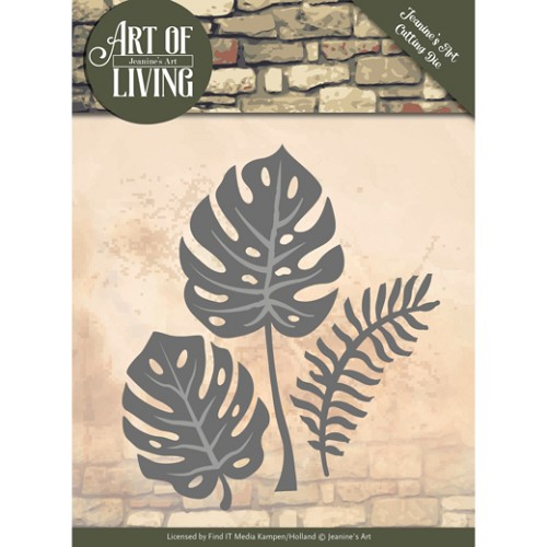 50407 Dies - Jeanine`s Art - Art of Living - Leaves (JAD10055).