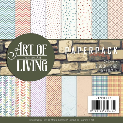 50409 Paperpack - Jeanine`s Art - Art of Living (JAPP10007).